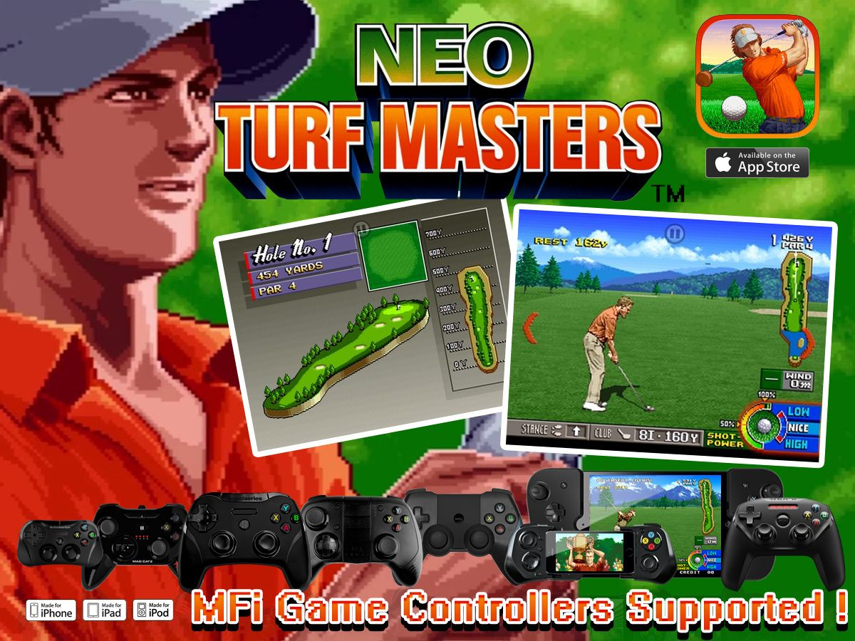 The Classic Arcade Golf Game That Defined The Genre Now Available On Ios With Mfi Game Controller Support