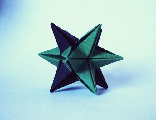 3d Origami Star By Baasheepa Crafts Paper Pinterest Origami
