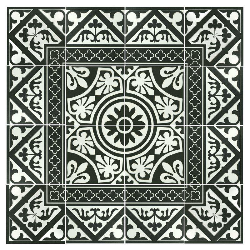 Seni Tiena 10 X 10 Porcelain Patterned Wall Floor Tile Elitetile Tile Patterns Border Tiles