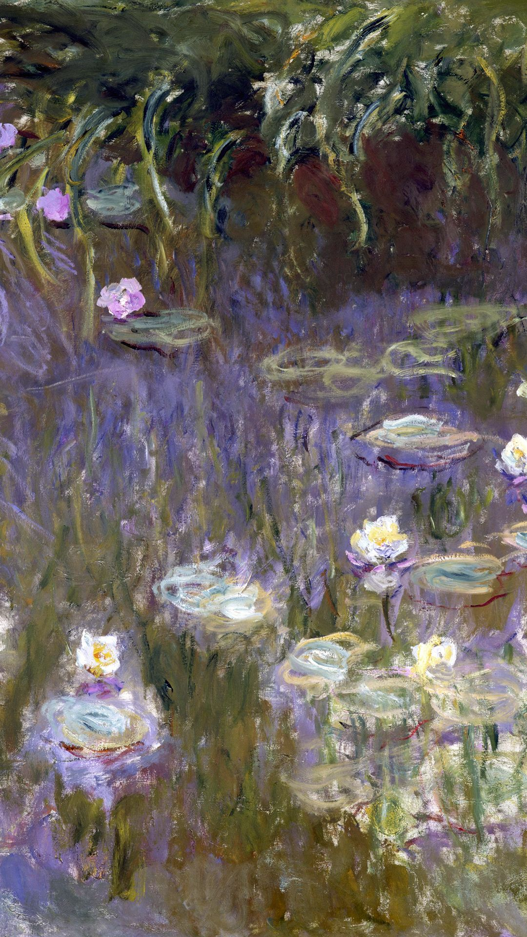 Claude Water Lilies 1992 (1922) Detail