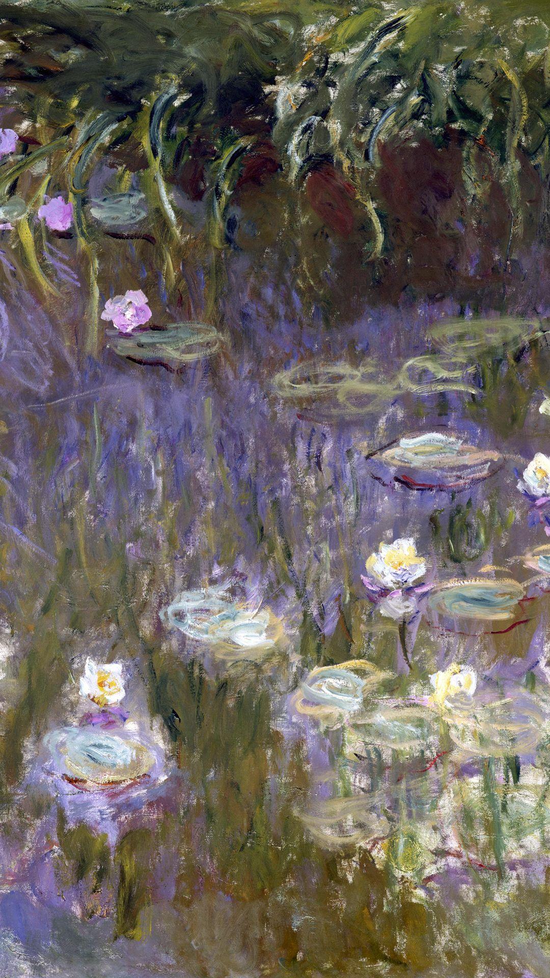 Claude Water Lilies 1992 (1922) Detail