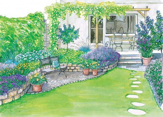 Reihenhausgarten Sichtschutz bildergebnis für reihenhausgarten sichtschutz garden delight