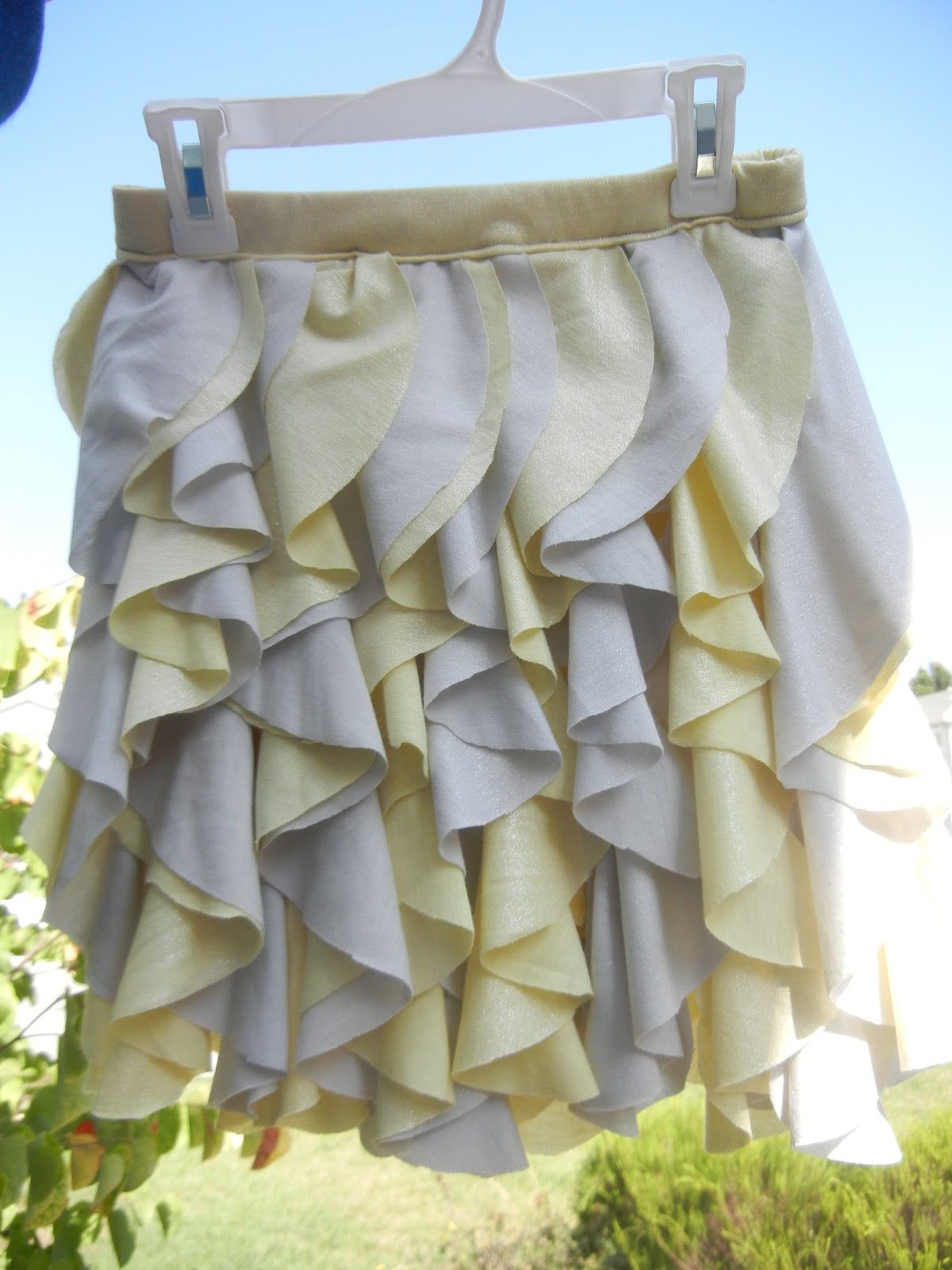 How to sew cascading ruffles tutorial. I\'m going to do this on the ...