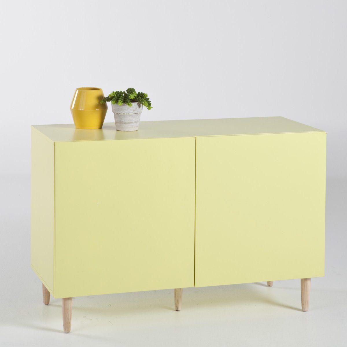 Meuble De Cuisine Vert Anis buffet 2 portes vert anis   meuble tv design, meuble, buffet