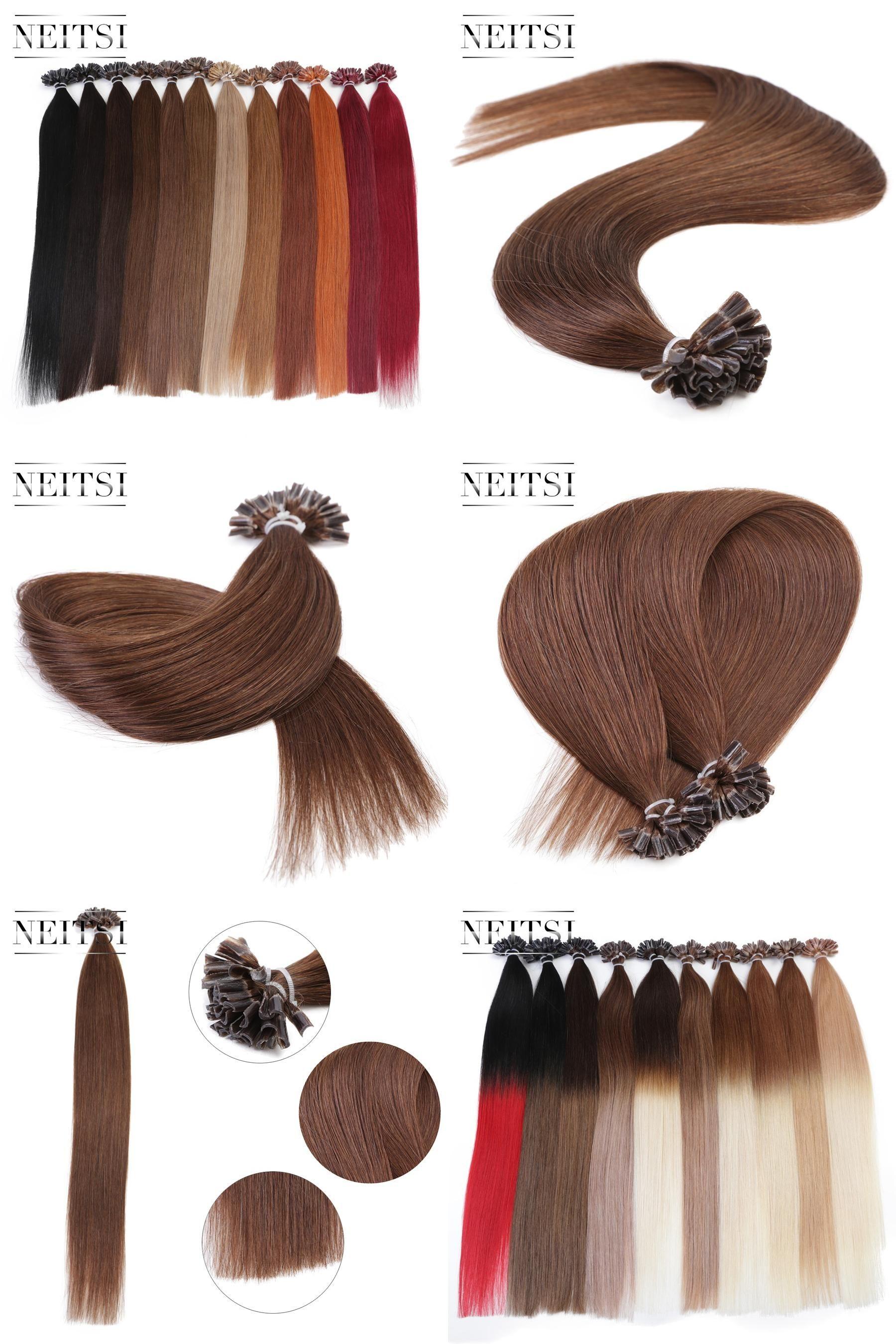 Visit To Buy Neitsi Indian Straight Keratin Human Fusion Hair Nail