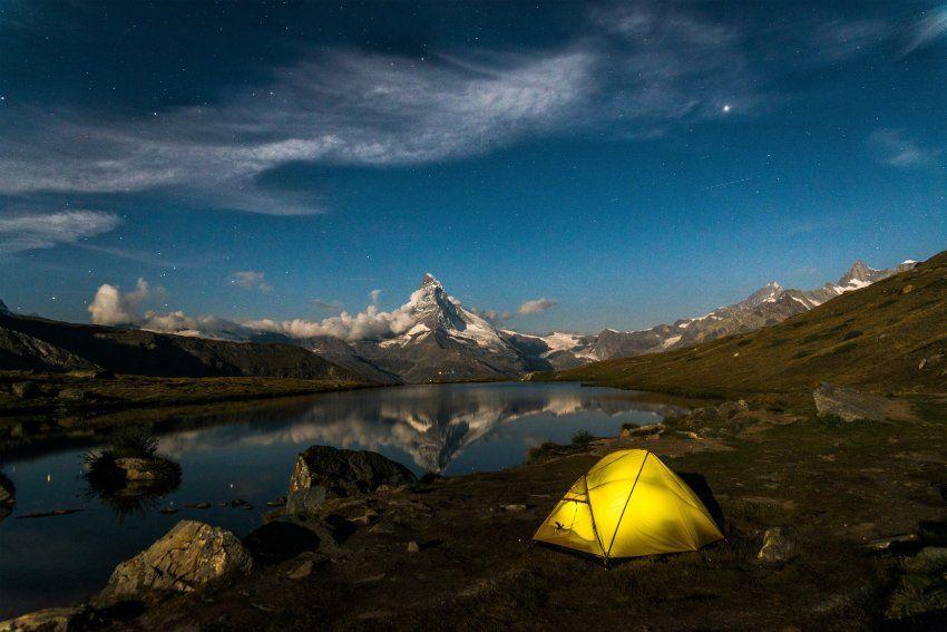 Campingfotos auf Instagram: Zeltenbei den Sternen - SPIEGEL ONLINE - Reise