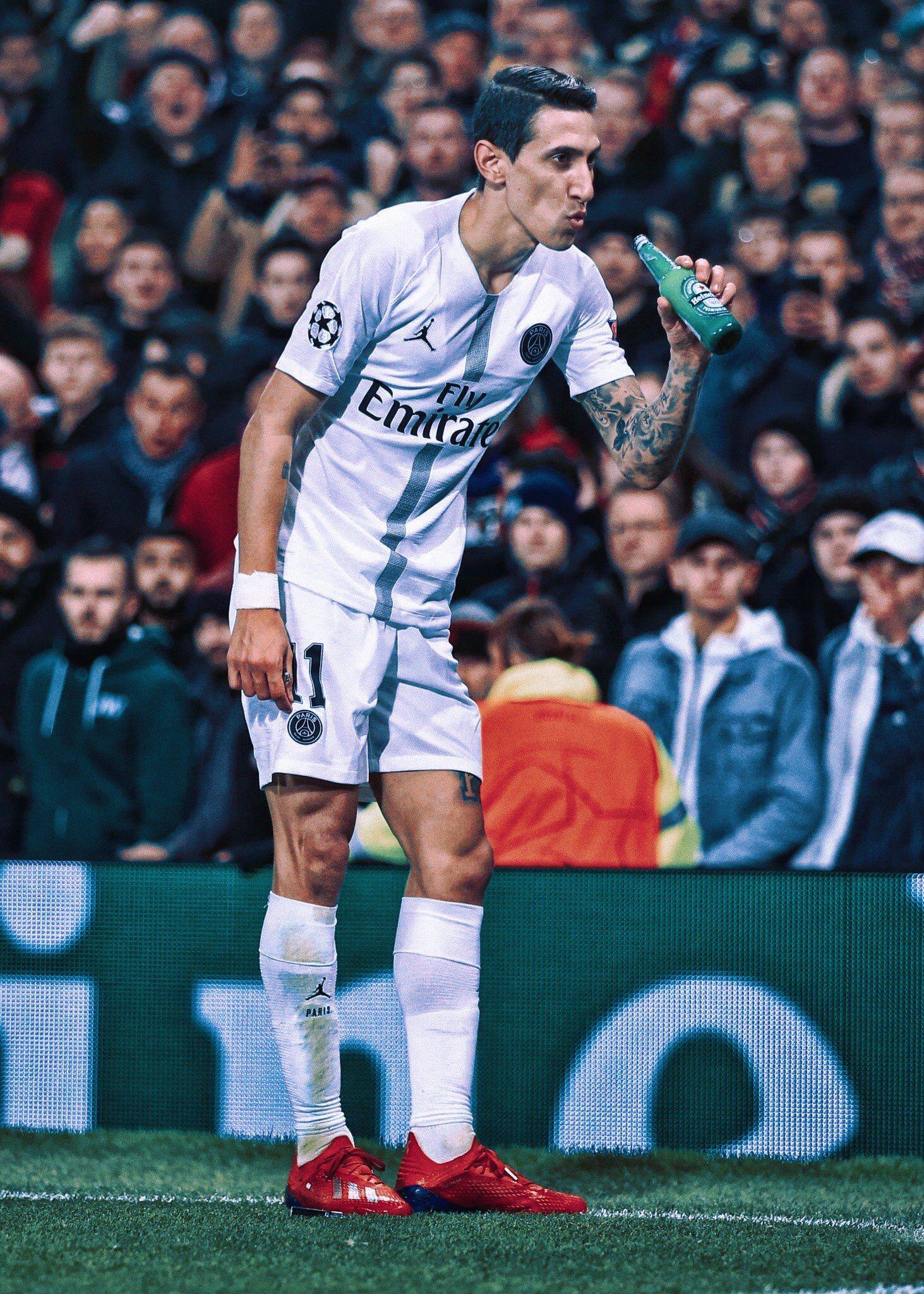 Dimaria Parissaintgermain Psg Wallpaper Joueur De Football Cr7 Messi Football Angel di maria wallpapers