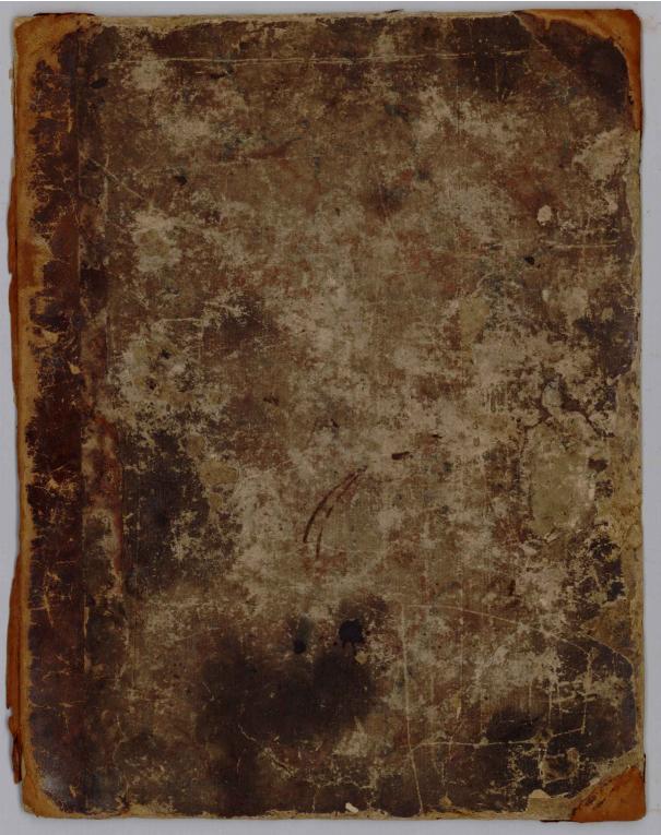 William B. Foster, Sr., Scrapbook, 1822-1855 Foster Hall Collection, CAM.FHC.2011.01, Center for American Music, University of Pittsburgh. O Livro de recortes foi um passo fundamental na demonstração da preocupação pela composição das imagens.