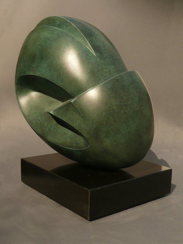 Julia VANCE - Vi / Us, 2007 Bronze, 35 cm x 40 cm x 30 cm