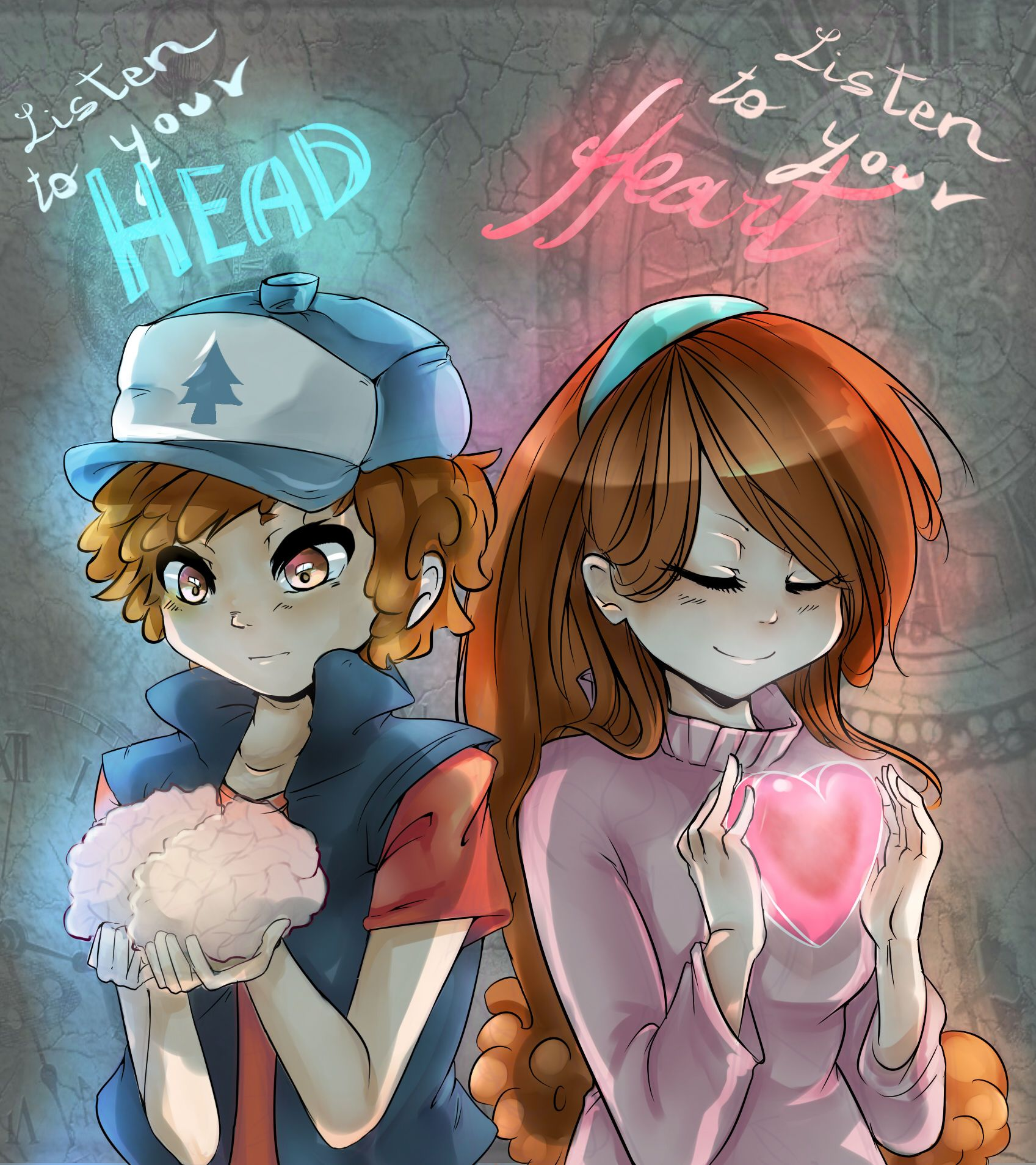 This Basically Describes Dipper And Mabel Gravity Falls Gravity