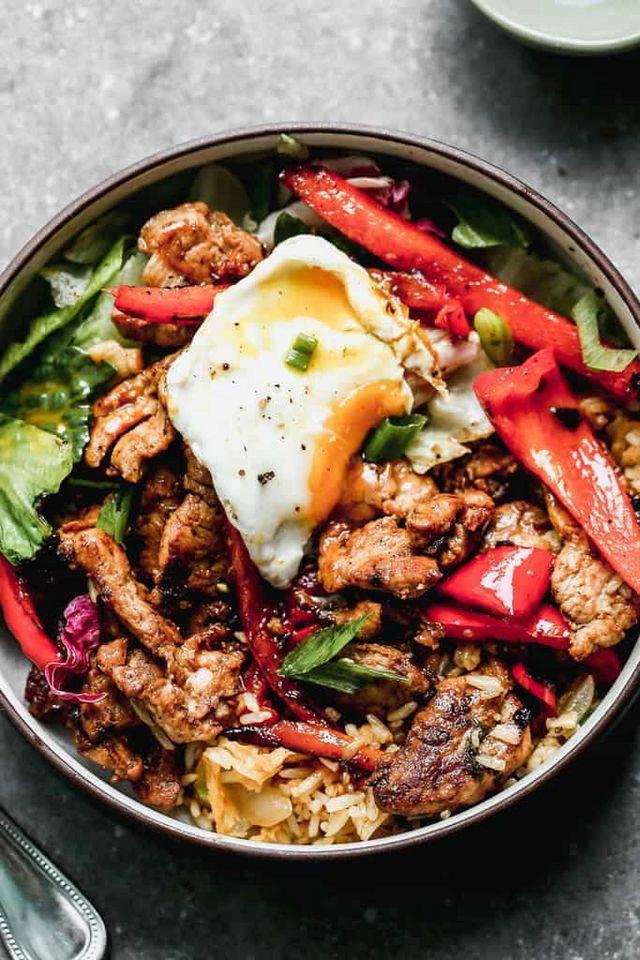 Bulgogi Bowls (Bibimbap) | Recipe in 2020 | Bulgogi ...