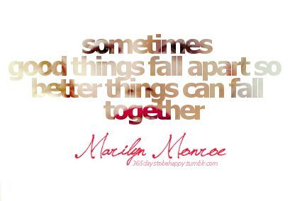 Quote By Marilyn Monroe Everything Happens For A Reason Sorority