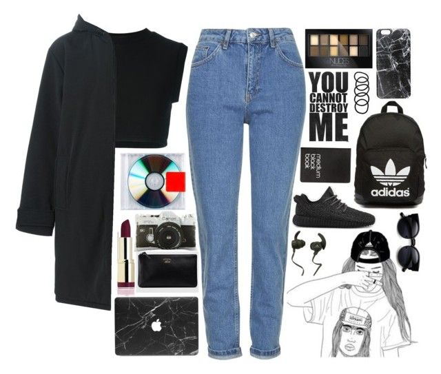 """""""#32 Yeezy"""" by anoukvanaanholt ❤ liked on Polyvore featuring adidas Originals, Topshop, adidas, Casetify, Monster, Maybelline, Dot & Bo, Wet Seal, Dinks and Gucci"""