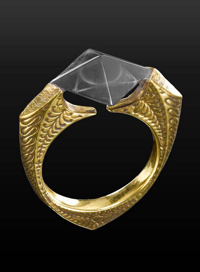 Harry Potter Horkrux Vorlosts Ring Harry Potter Anel Masculino Acessorios