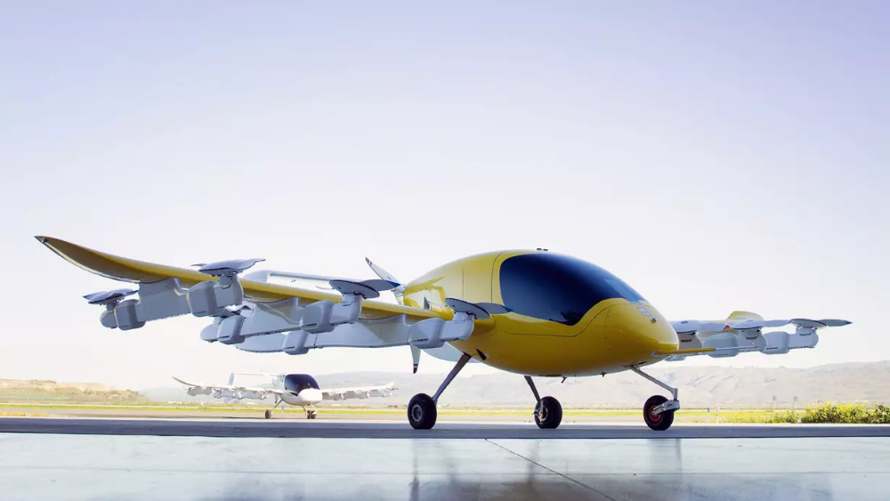 Boeing throws its weight behind Larry Page's flying taxi