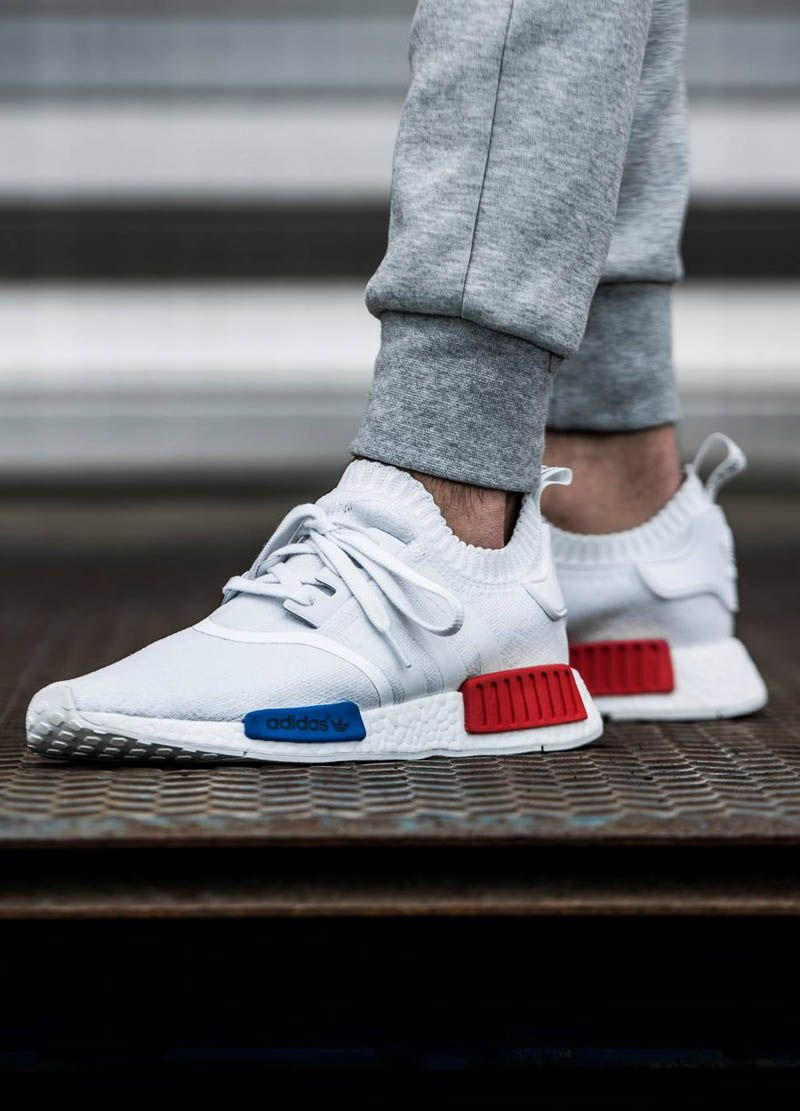 adidas NMD R1 Nomad BA7245 Triple White Monochrome Youth