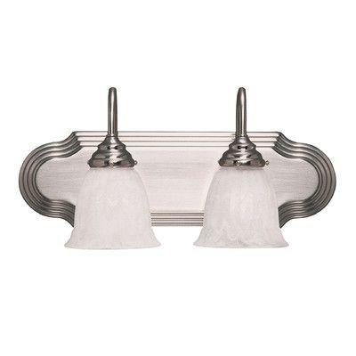 Savoy House Summergrove 2 Light Bath Vanity Light Finish: Satin Nickel