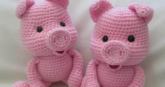 Кукляндия: Поросенок Пятачок | Свинка 2019 | Pinterest | Häkeln ...