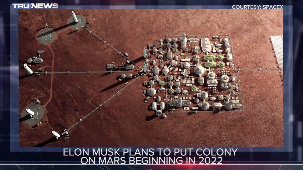 Elon musks plans to put colony on mars hits stumbling