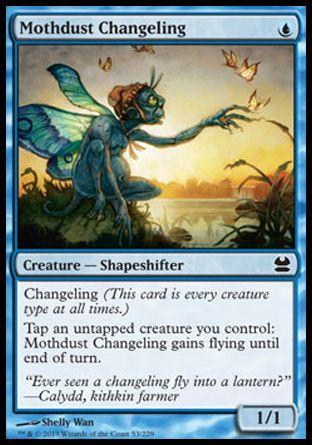 Mothdust Changeling (Modern Masters)