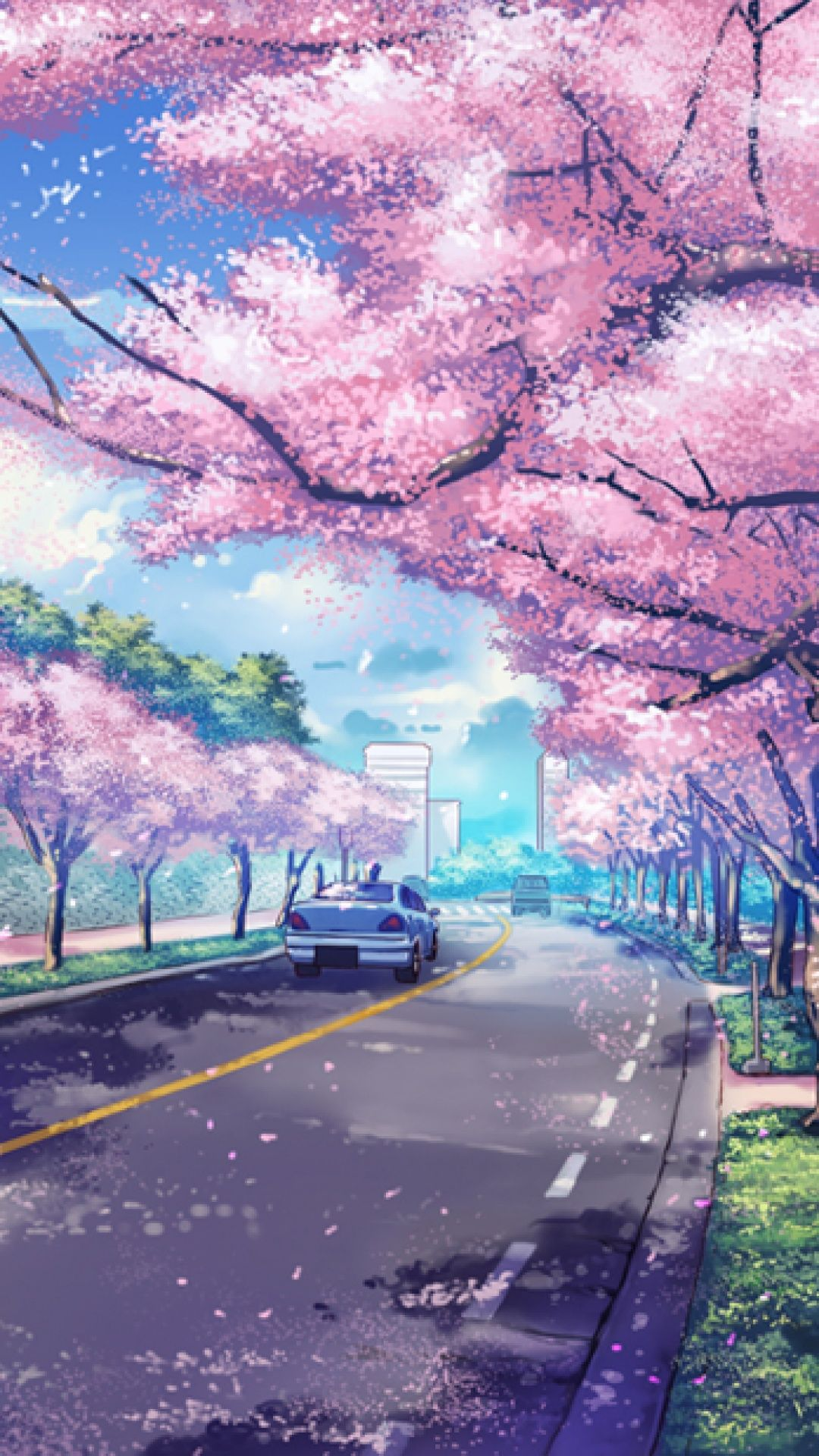 Japan Cityscape Iphone Wallpaper Id 43521 Anime Backgrounds Wallpapers Anime Scenery Wallpaper Iphone Wallpaper Japan