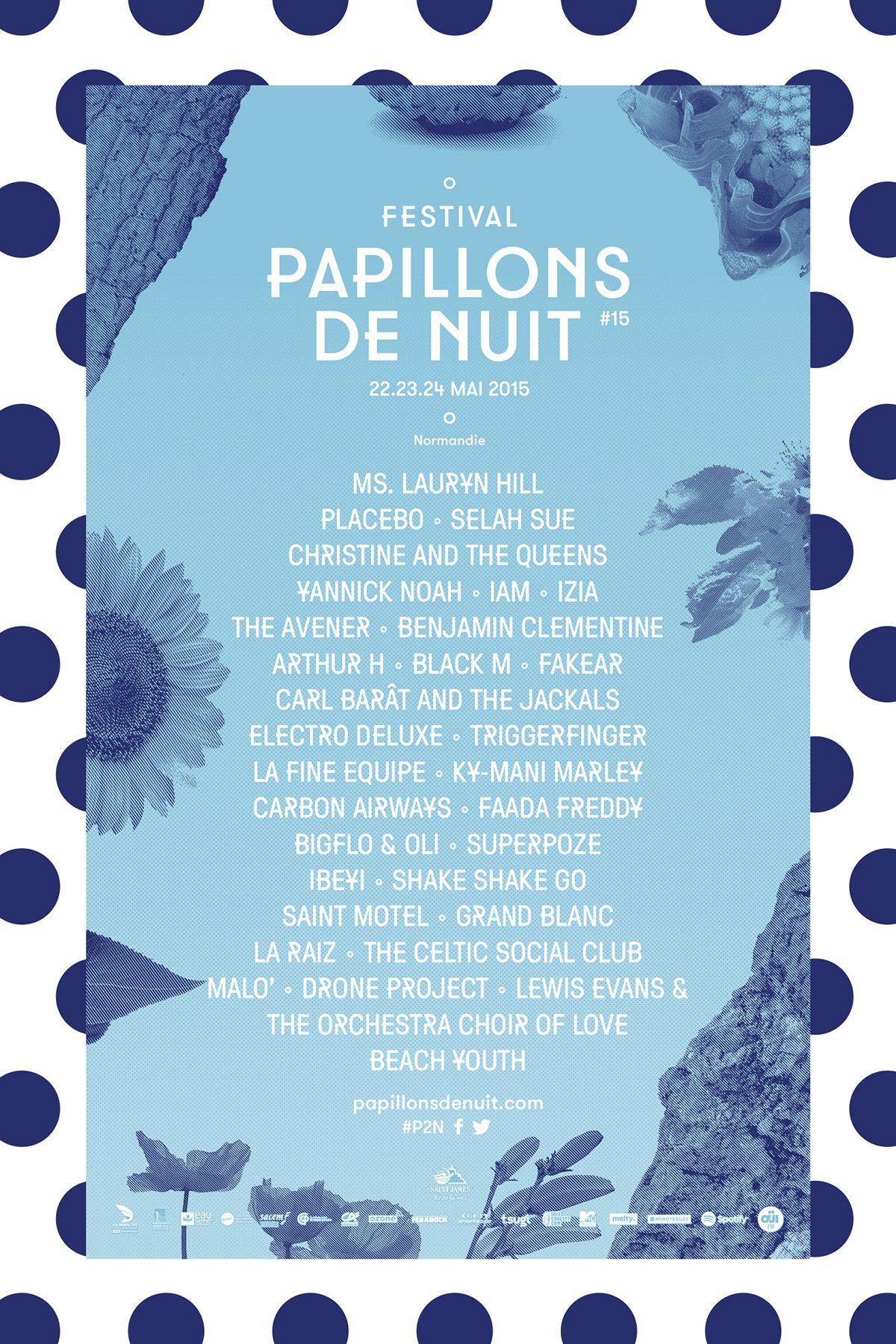 Festival Papillons de Nuit 2015 on Behance