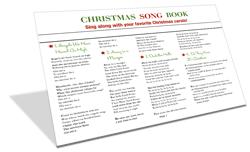 image regarding Christmas Carol Lyrics Printable Booklet known as Printable xmas carol guide! Xmas Xmas