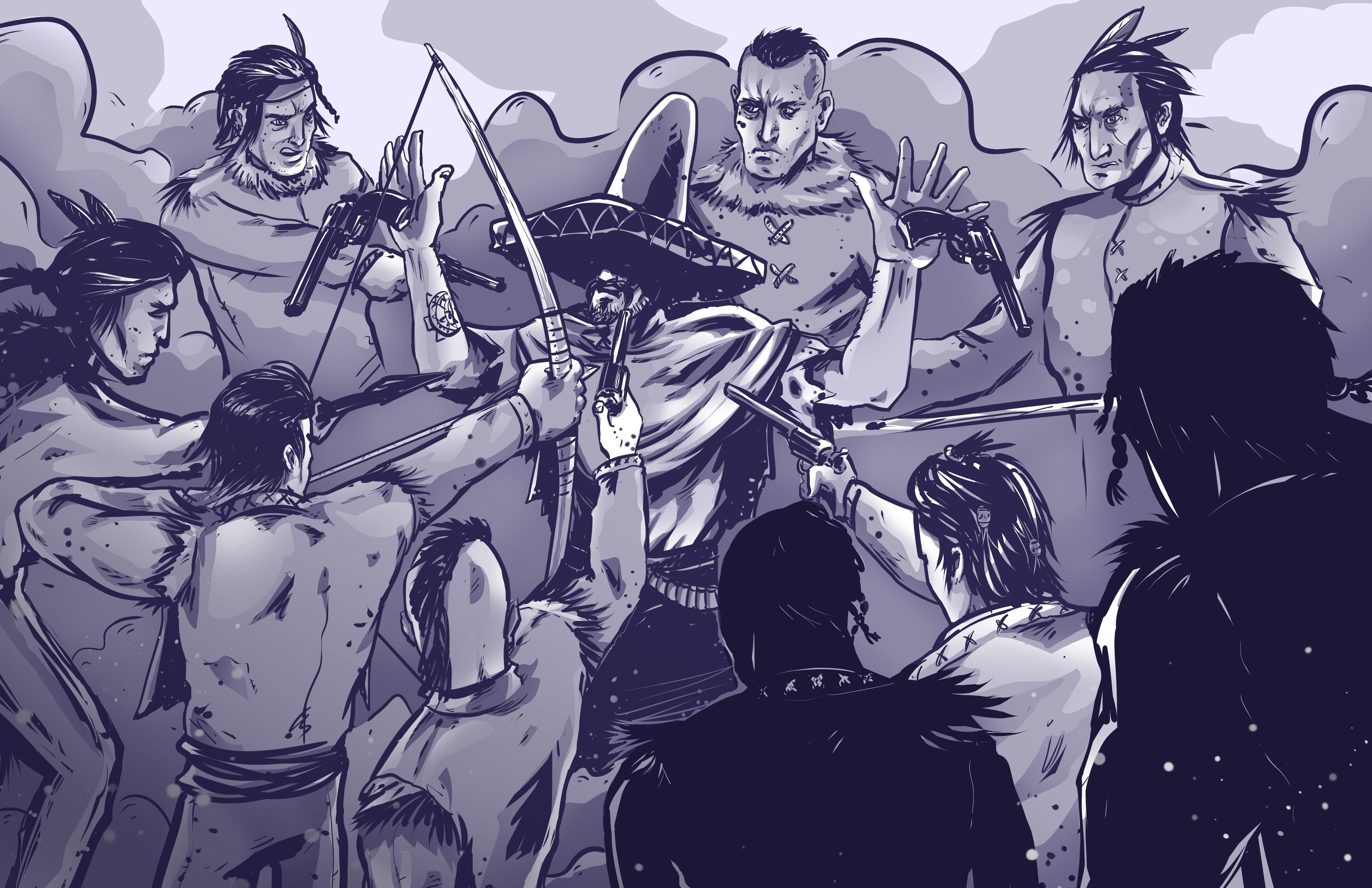 Somwhere on Wild West #12isbetterthan6 #12ibt6 #inkstainsgames #art #gamedev #indiegame #indiedev #indie #gamedesign #gaming #topdownshooter #tds #singleplayer #western #videogames #Steam #gamer #games #indiegames #indiegamedev #gamedevelopment #2d #2dart #illustration #illustrator #artist #artistic #graphicdesign #graphic #drawing #illustration