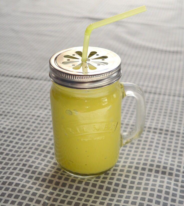 Smoothie de plátano (guineo, banana, banano) y aguacate - | Mi Cocina Vegetariana