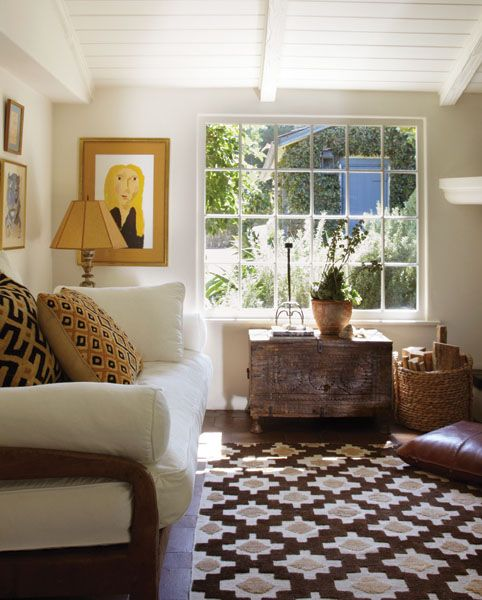 with Moroccan flair Living Spaces Pinterest Cottage style