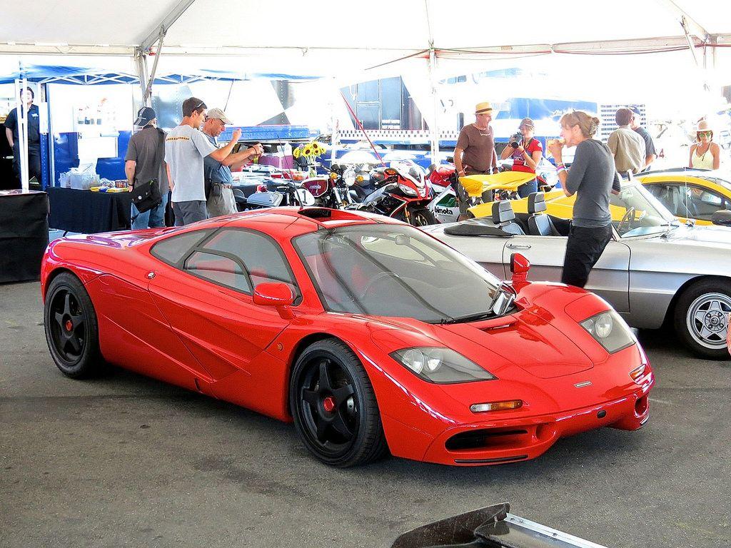 McLaren F1 Red 4