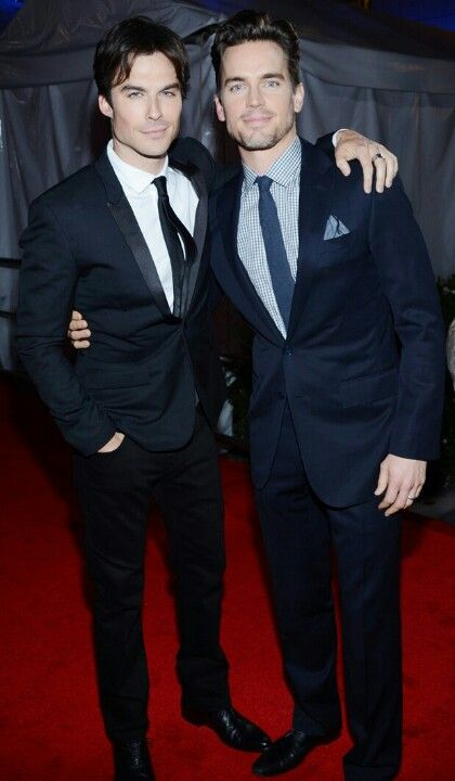 Is this real life?! Ian Somerhalder and Matt Bomer