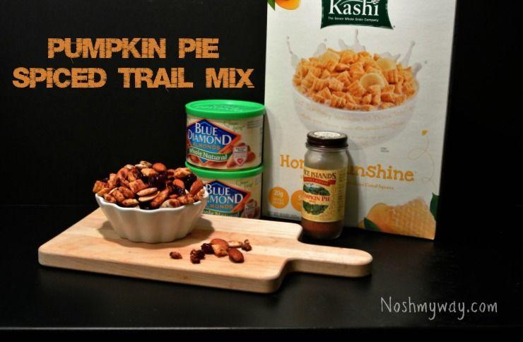 Pumpkin Spiced Trail Mix