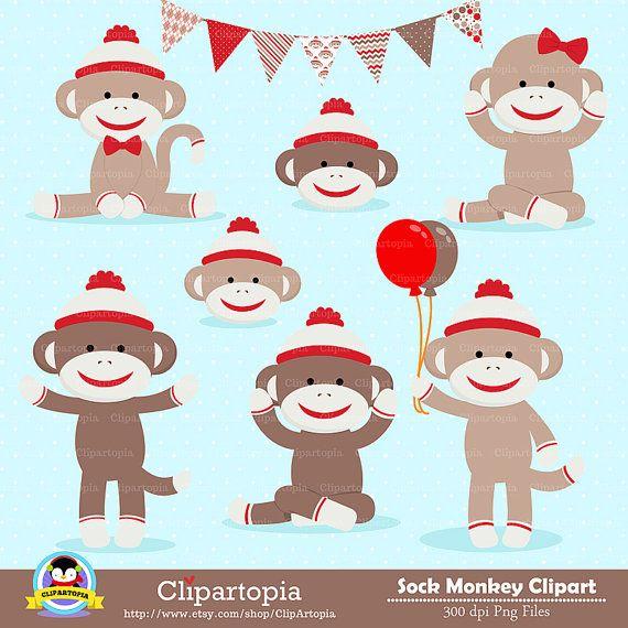 Free Printable Sock Monkey Clip Art 10 sock monkey Sock monkey