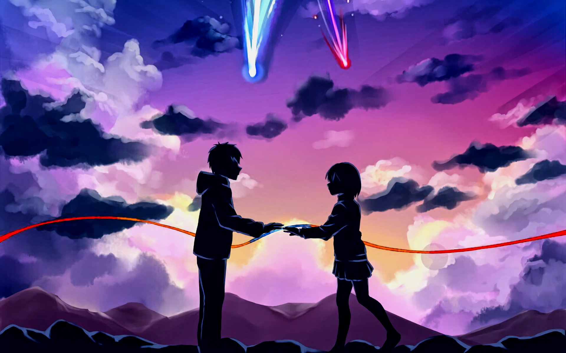 Makoto Shinkai Kimi No Na Wa Your Name Wallpaper Full Hd Free Download Your Name Anime Kimi No Na Wa Wallpaper Kimi No Na Wa