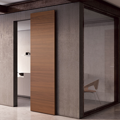 Magic 2 Wall Mount Concealed Sliding System For Wood Doors Made