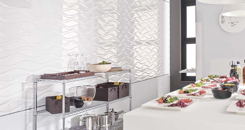 Para la pared de la cocina revestimiento dubai nacar 31 6 for Revestimiento ceramico cocina