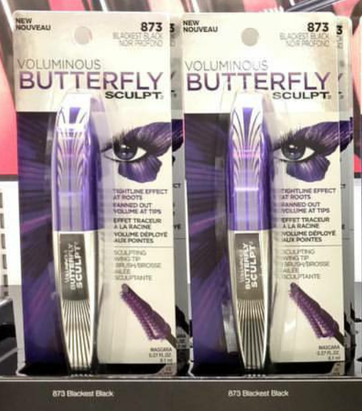 4eab3f86b1e Spotted: NEW L'Oreal Voluminous Butterfly Sculpt Mascara   2016 ...