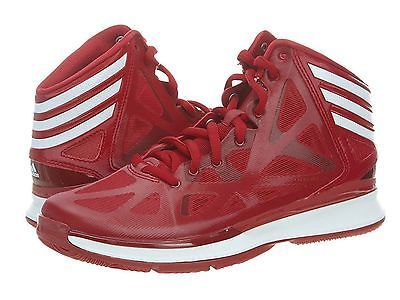 san francisco 2a752 68ca0 ADIDAS AS SMU CRAZY SHADOW 2 MENS G99744 Red Basketball Shoes Sneakers Size  11.5