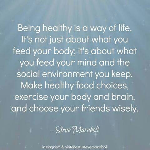 Healthy.. mind, body and soul Healthy mind quotes