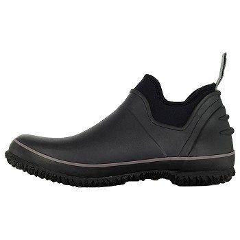 Bogs Mens Urban Farmer Waterproof Slip Resistant Boots Black