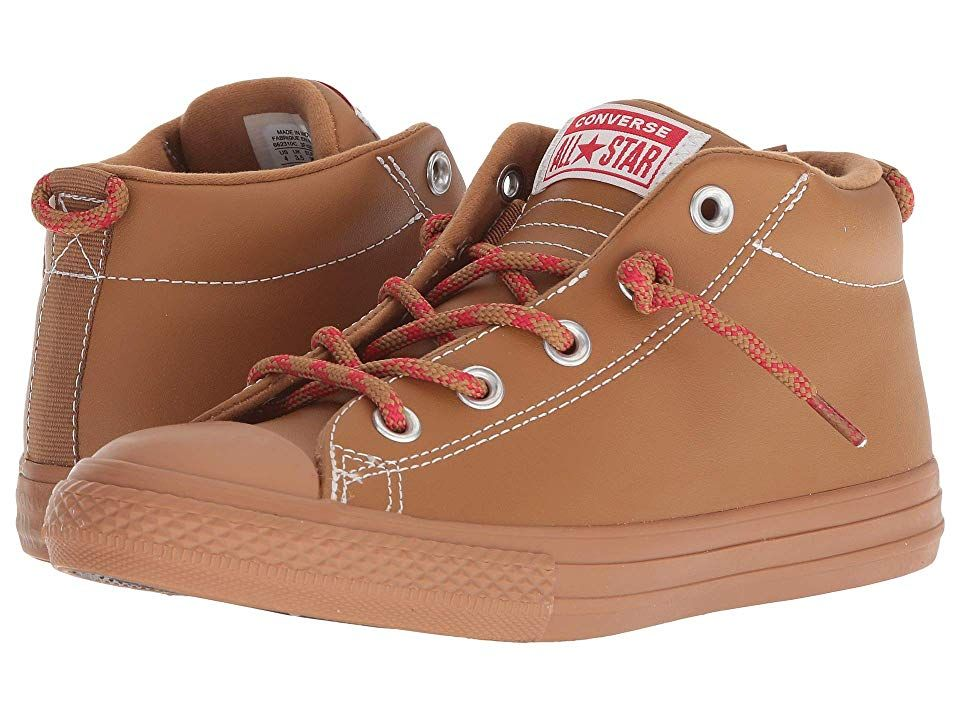73f44f3938e Converse Kids Chuck Taylor All Star Street Hiker - Mid (Little Kid Big Kid)  (Burnt Caramel Burnt Caramel) Boy s Shoes. Good times are calling with the  ...