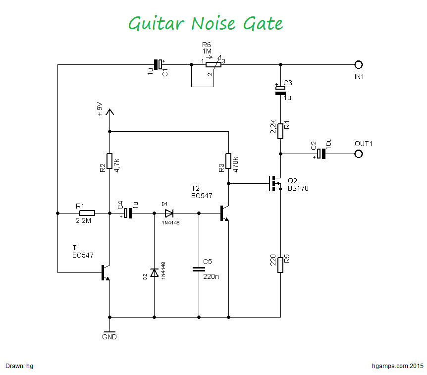 This circuit is a very simple guitar noise gate that helps to this circuit is a very simple guitar noise gate that helps to eliminate unwanted noise cheapraybanclubmaster Images