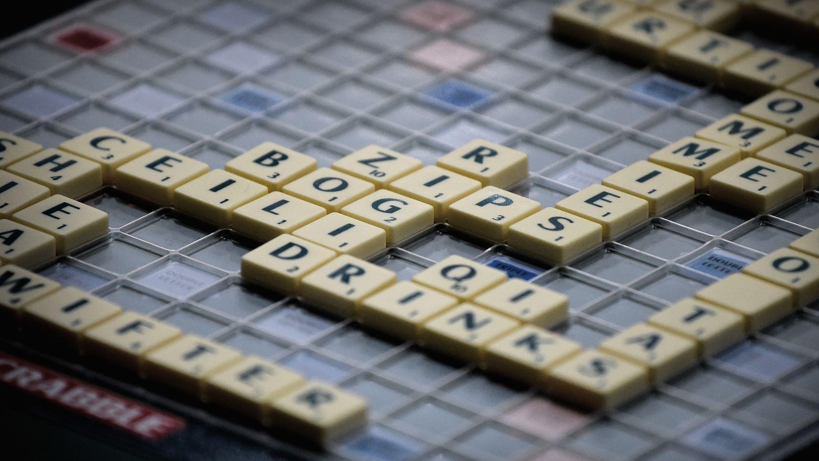 The Scrabble Bracket Scrabble, Lettering, Games