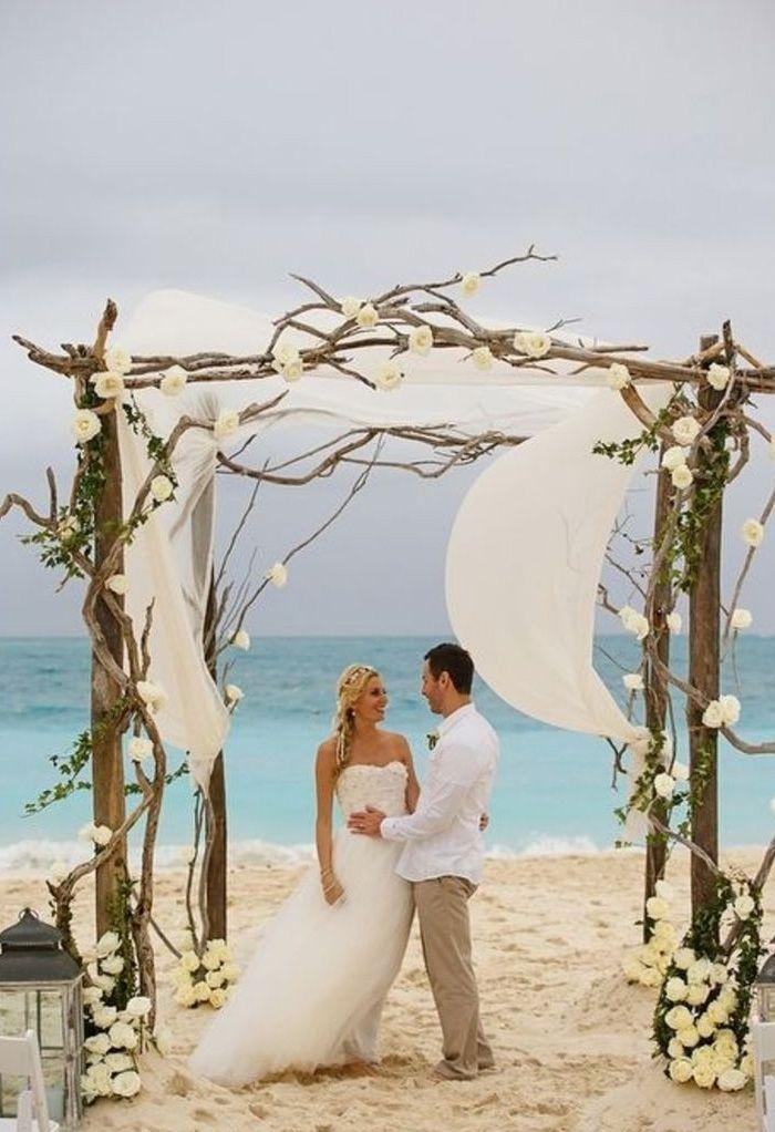 19 Charming Beach And Coastal Wedding Arch Ideas For 2018 All You