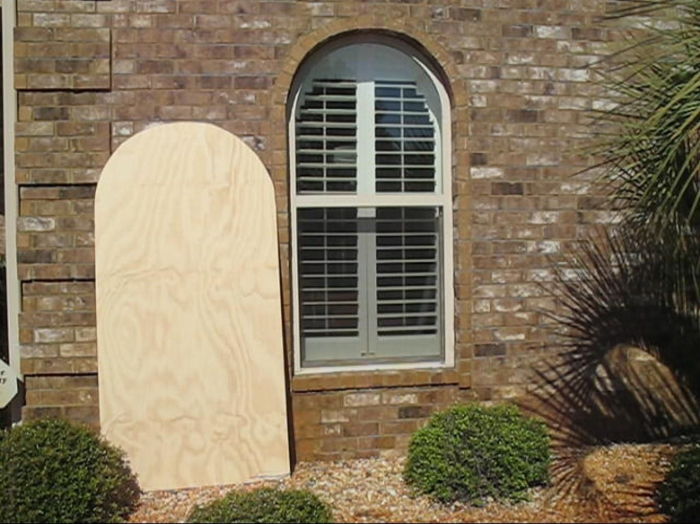 How To Make Your Own Hurricane Shutters Hurricane Shutters Diy Shutters House Shutters