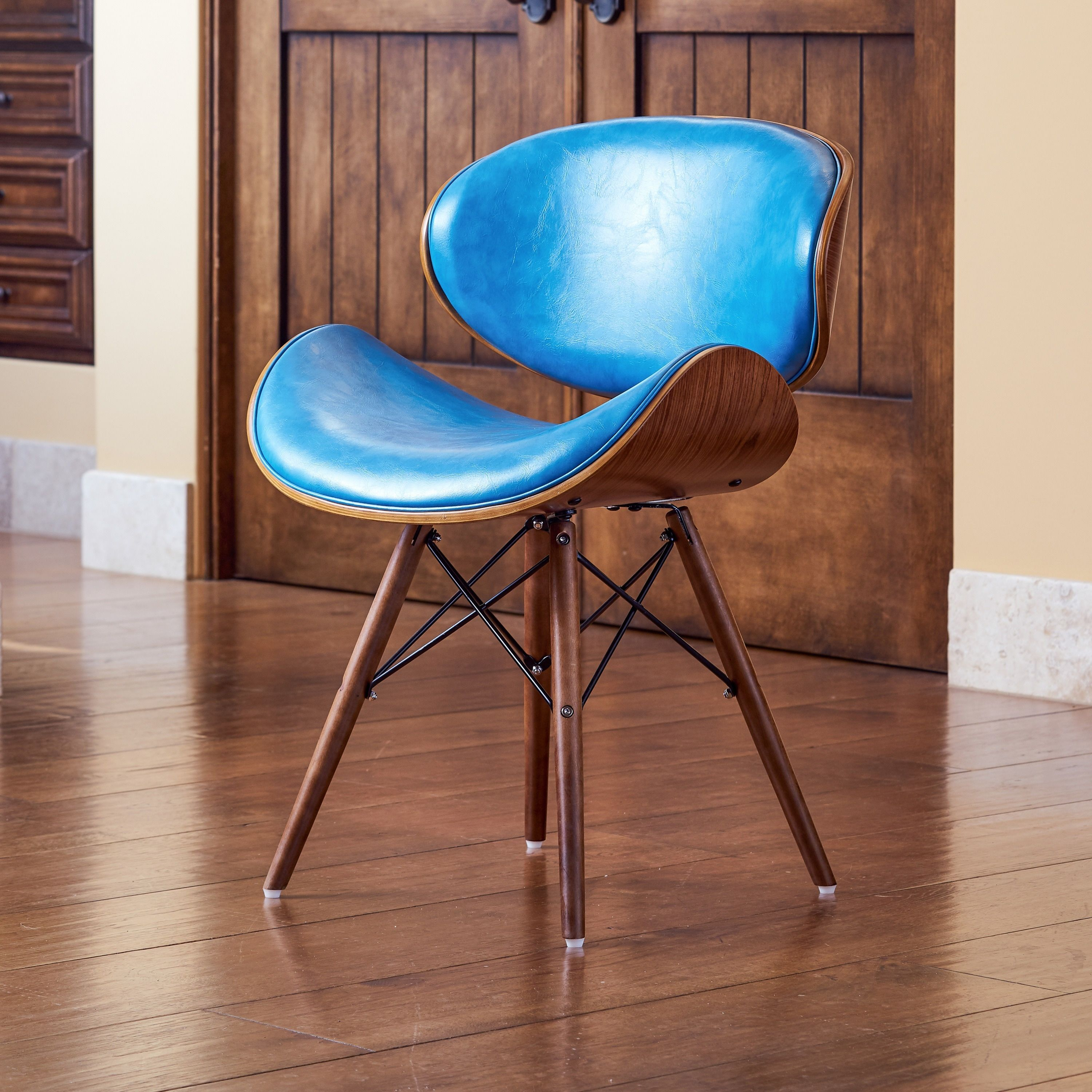 Best Corvus Madonna Mid Century Teal Accent Chair Teal Accent 640 x 480