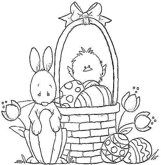 Easter Basket Easter Coloring Sheets Easter Coloring Pages Easter Prints