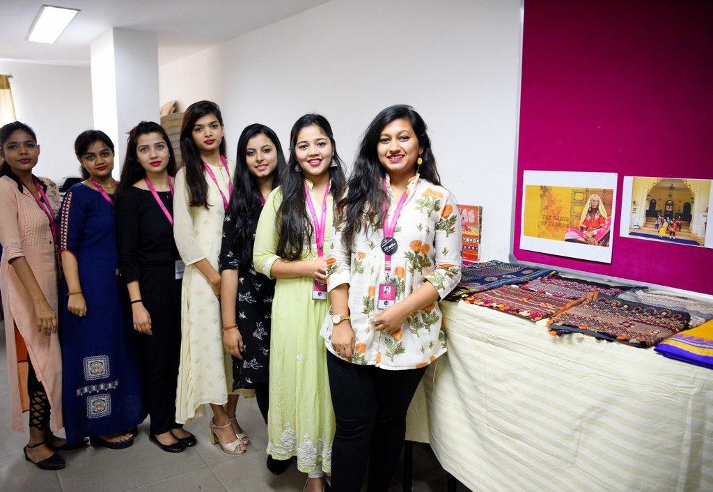 The students of PostGraduation Diploma in Fashion Design