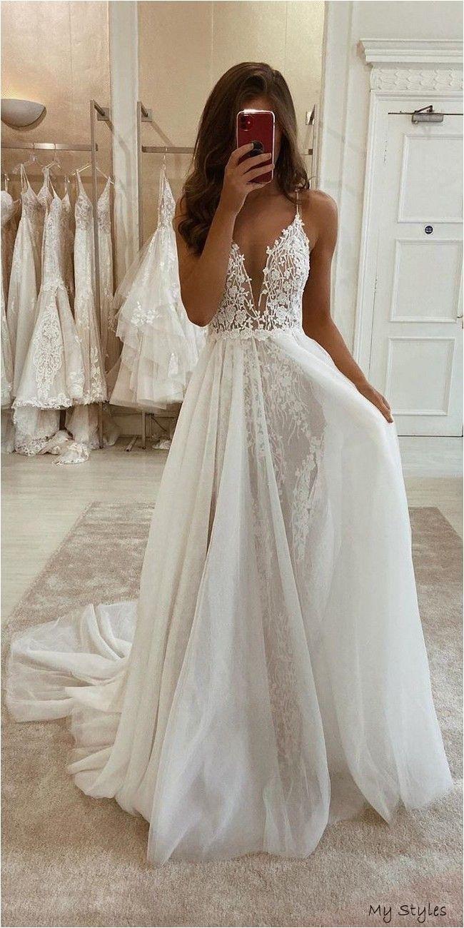 Eleganza Sposa Wedding Dresses 2020 Formal Dresses In 2020 Boho Wedding Dress Lace Wedding Dresses Lace Top Wedding Dresses
